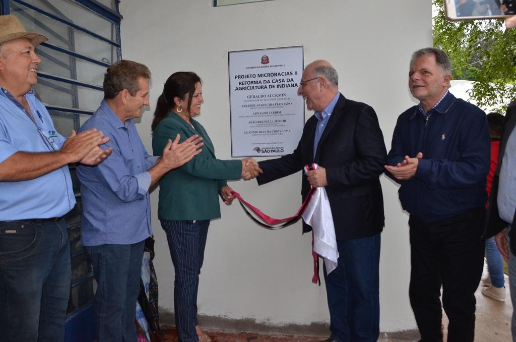Inauguração da Reforma da Casa da Agricultura