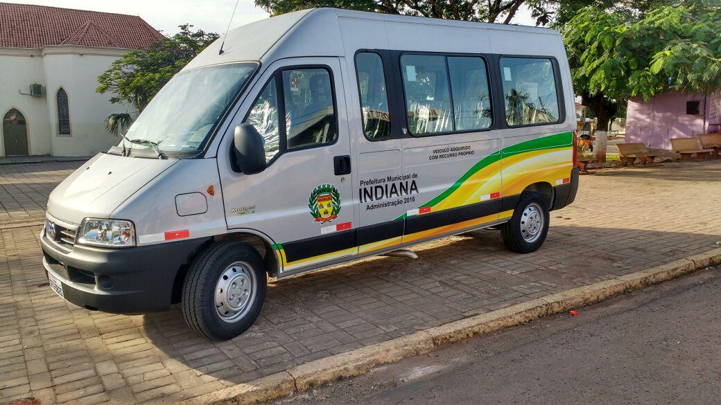 Indiana celebra a aquisição de um novo veículo
